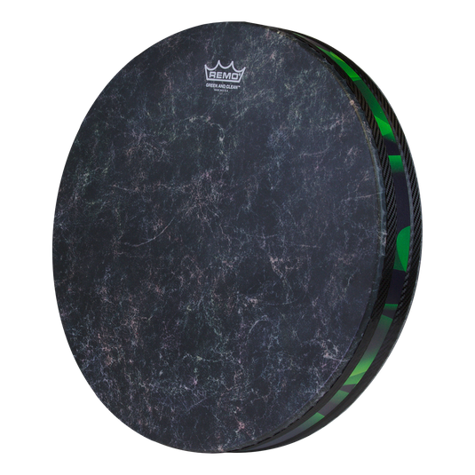 Remo Green en Clean Ocean Drum 16""