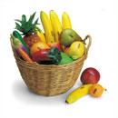 Groente- en fruitset 18 stuks