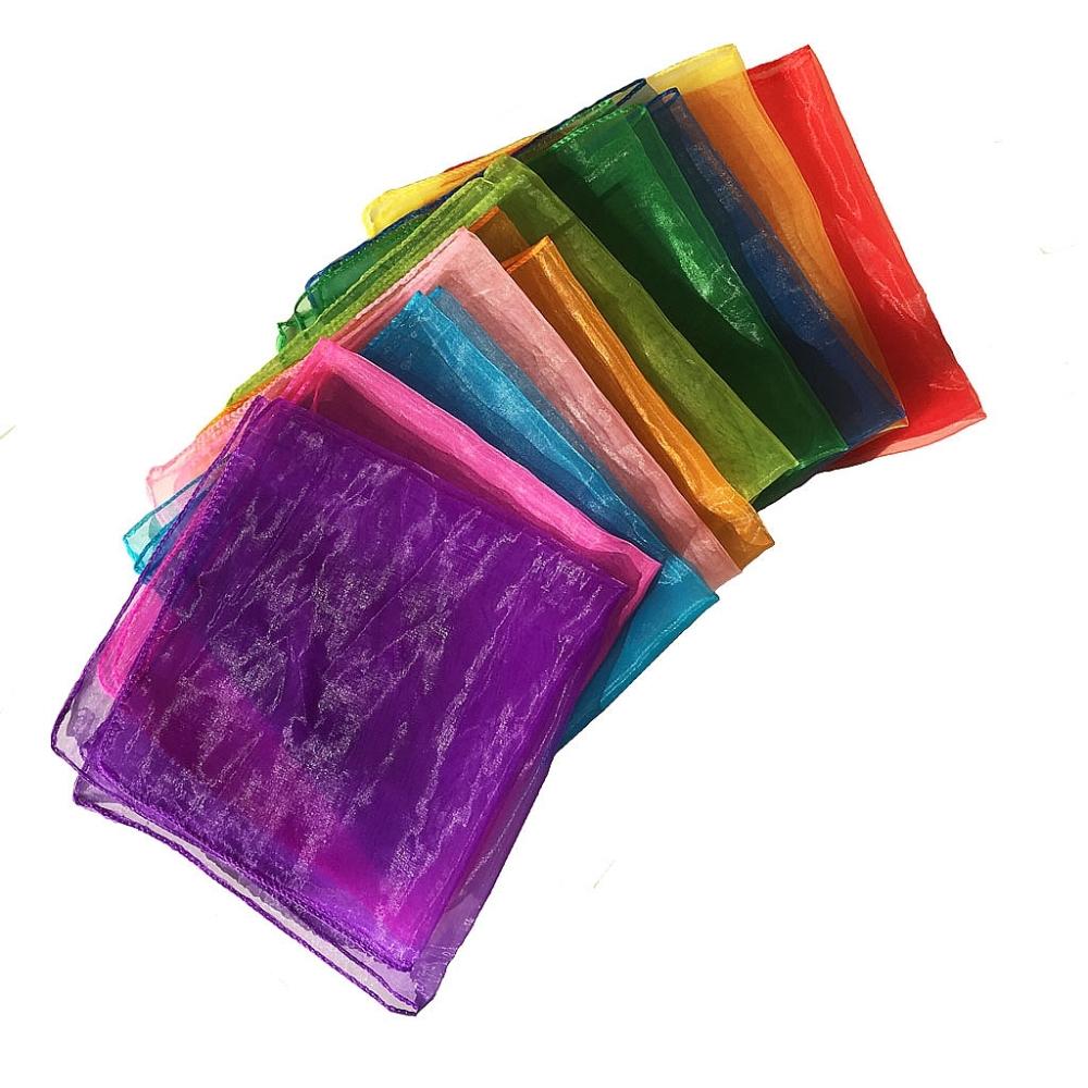 Kleurige sjaaltjes 40 cm